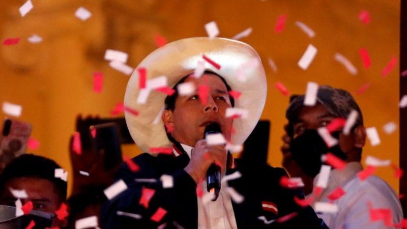 Quem é Pedro Castillo, professor primário e dirigente sindical eleito presidente do Peru