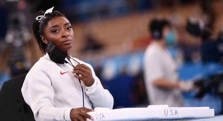 Simone Biles: o desabafo da campeã olímpica ao desistir de final em Tóquio: 'Preciso cuidar da saúde mental'