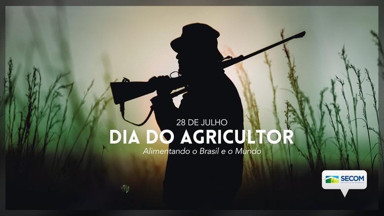 Governo federal usa foto de homem armado para homenagear agricultores