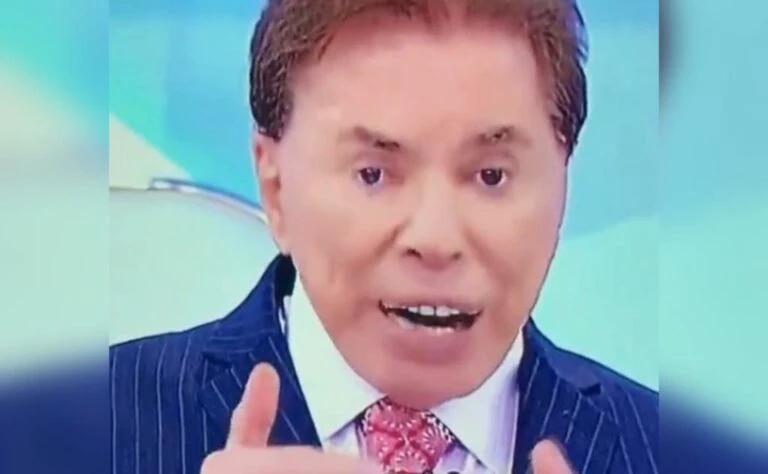 Silvio Santos retorna à TV e vira meme por 'dentes estranhos'